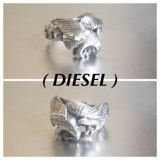 DIESEL - DIESELディーゼル925silverイーグルモチーフリング