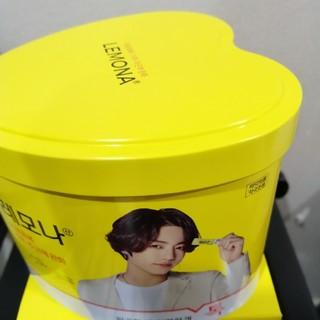 BTS ジョングク レモナ ハート缶(アイドルグッズ)