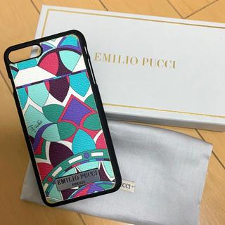 エミリオプッチ(EMILIO PUCCI)の値下げ♪【EMILIO PUCCI】iPhone 7plusケース(iPhoneケース)