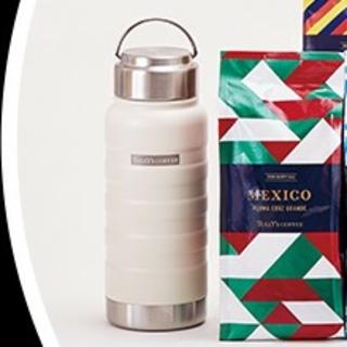 タリーズコーヒー(TULLY'S COFFEE)のタリーズコーヒー福袋ステンレスボトル2個セット(ノベルティグッズ)