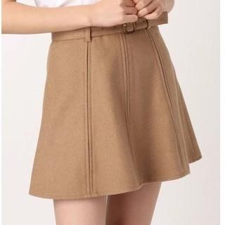 ダズリン(dazzlin)の【新品未使用】dazzlin ベルト付きスカート(ミニスカート)