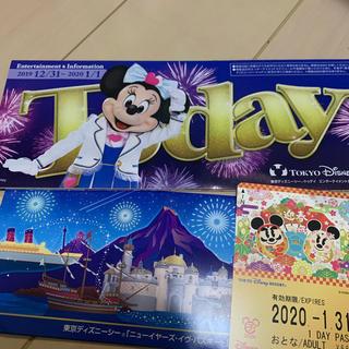 Disney - ディズニーニューイヤーズイヴ 20192020リゾートライン1daypass1枚