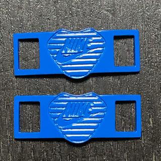 ナイキ(NIKE)の込 NIKE シューレース デュブレ ブルー BLUE shoe laces(スニーカー)