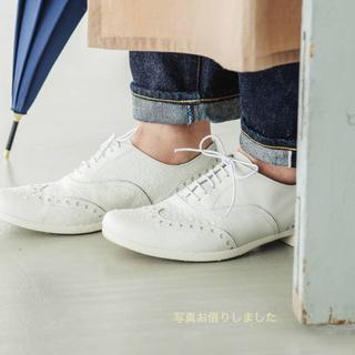 ショセ(chausser)のchausser / ウイングチップ レザーシューズ(37)(ローファー/革靴)