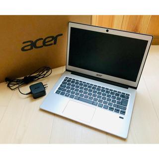 エイサー(Acer)の新品同様 ノートパソコン Acer シルバー Windows10(ノートPC)