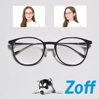Zoff - Zoff ゾフ スマート クラシック ボストン ZJ191028 メガネ 黒縁
