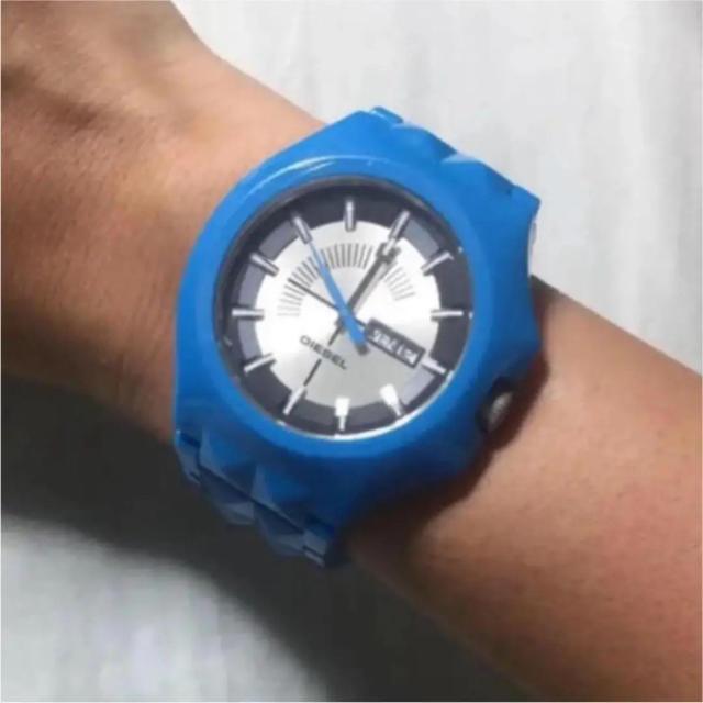 オーデマピゲ コピー 文字盤交換 / DIESEL - DIESEL ブルー 腕時計の通販