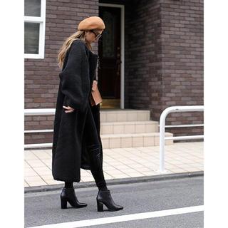 ルームサンマルロクコンテンポラリー(room306 CONTEMPORARY)の大人気商品♡在庫1点限り♡Boa Long Coat♡black(ロングコート)