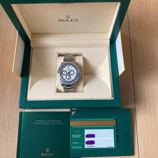 カルティエ 時計 レディース 自動 巻き - ROLEX - デイトナ116500LNの通販 by Ryuuto's shop