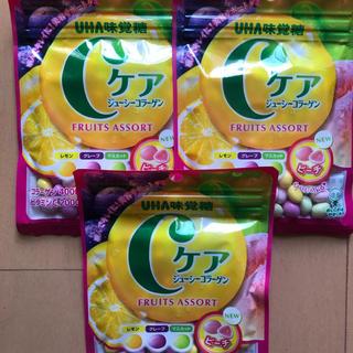 ユーハミカクトウ(UHA味覚糖)のCケア ジューシーコラーゲン 3個(菓子/デザート)