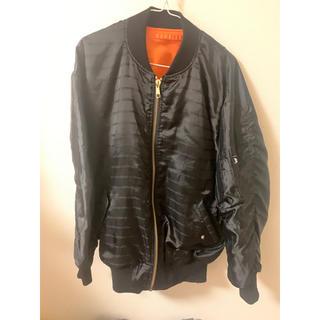 STUSSY - ミリタリージャケット MA1 ブラック レディース