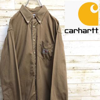 カーハート(carhartt)の*カーハート*長袖シャツ*ワークシャツ*FR*Lサイズ*(シャツ)