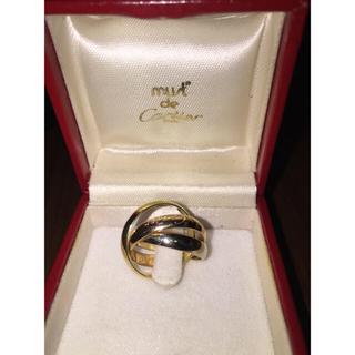 カルティエ(Cartier)のトリニティドゥカルティエリング(リング(指輪))