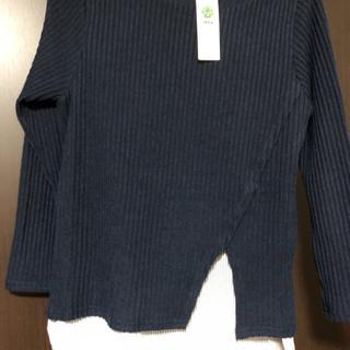 イッカ(ikka)のイッカ IKKA 起毛テレコレイヤードチュニック(ニット/セーター)