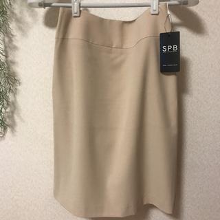 ワールドベーシック(WORLD BASIC)の専用  新品未使用 SPB タイトスカート タグ付き(ひざ丈スカート)