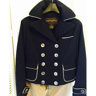 ルイヴィトン(LOUIS VUITTON)のルイヴィトンPコート♡シャツセット♡(ピーコート)