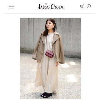 ミラオーウェン(Mila Owen)のMilaOwen(ミラ オーウェン) ワイドライダースジャケット(ダウンジャケット)