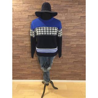 ボウダンショウネンダン(防弾少年団(BTS))のデザインパネルニット 韓国ファッション人気デザイン(ニット/セーター)