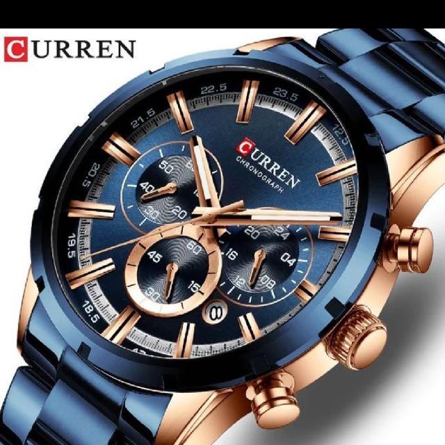ロレックス 70 万 、 メンズ高級 腕時計 CURREN の通販 by I like