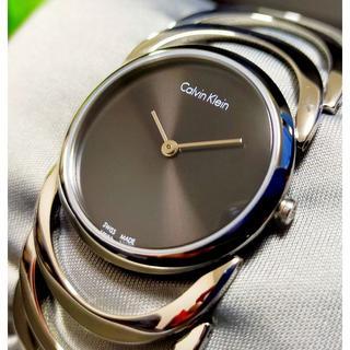 カルバンクライン(Calvin Klein)のCALVIN KLEIN カルバンクライン 腕時計 BODY ブラック×シルバー(腕時計)