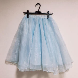フェイバリット(Favorite)のボリュームフレアスカート(ひざ丈スカート)