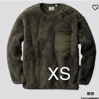 Engineered Garments - 新品 エンジニアードガーメンツ×ユニクロ フリースプルオーバー オリーブ XS