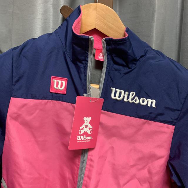 wilson(ウィルソン)のミィモ様専用 ウィルソン 新品 女の子 120 スポーツウェア サッカー  キッズ/ベビー/マタニティのキッズ服女の子用(90cm~)(ジャケット/上着)の商品写真