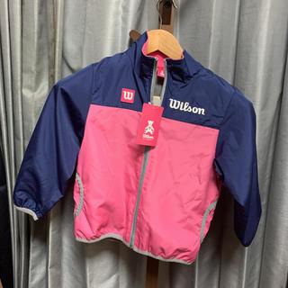ウィルソン(wilson)のミィモ様専用 ウィルソン 新品 女の子 120 スポーツウェア サッカー (ジャケット/上着)