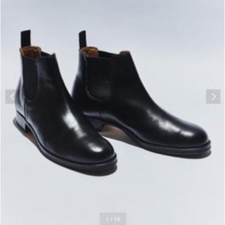ビューティアンドユースユナイテッドアローズ(BEAUTY&YOUTH UNITED ARROWS)のサイドゴアブーツ 木靴付き(ブーツ)