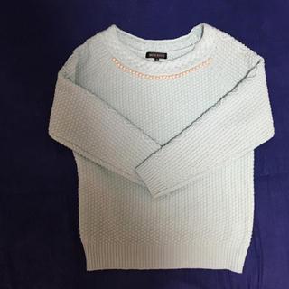 ミッシュマッシュ(MISCH MASCH)のビジュー♫袖ケーブル編みニット セーター♡ミッシュマッシュ(ニット/セーター)