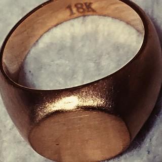 18k ゴールドカラー リング(リング(指輪))