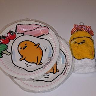 サンリオ - こども用靴下&紙皿