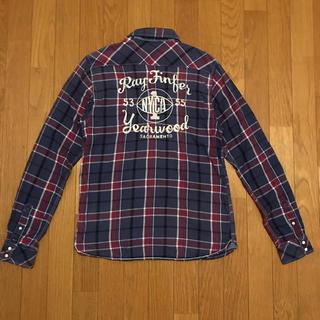 スコッチアンドソーダ(SCOTCH & SODA)のSCOTCH & SODA スコッチ&ソーダ 刺繍 チェックシャツ Sサイズ(シャツ)