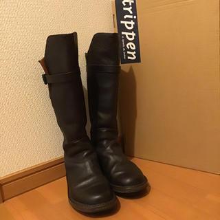 トリッペン(trippen)のtrippen トリッペン ブーツ クルセイダー 37(ブーツ)