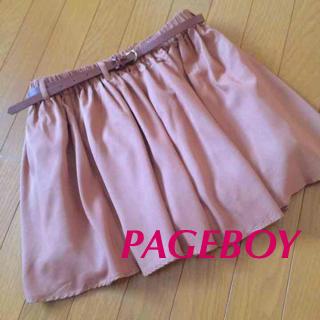 ページボーイ(PAGEBOY)のキュロットスカート(キュロット)