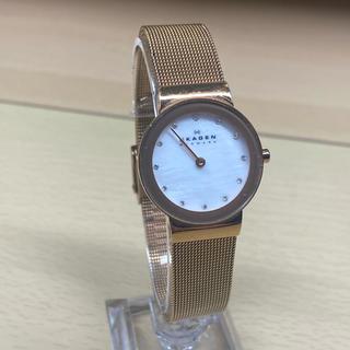 スカーゲン(SKAGEN)の【人気ブランド・特価】SKAGEN スカーゲン 8Pダイヤ フルメタル 時計(腕時計)