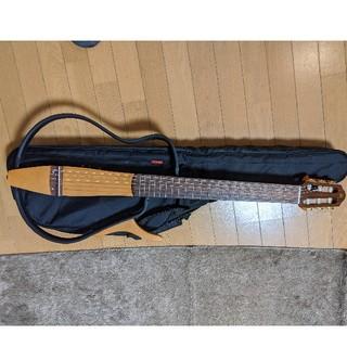 ヤマハ(ヤマハ)のYAMAHA サイレントギター SLG-100N 完動品(クラシックギター)