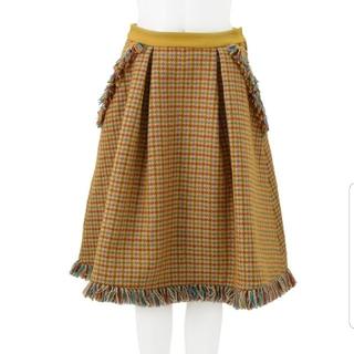 チェスティ(Chesty)のチェスティ ツイードフレアスカート (ひざ丈スカート)