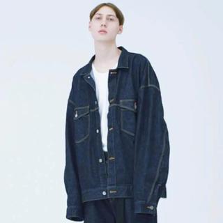 Jieda - jieda wide jean jacket