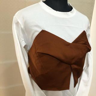 スライ(SLY)のスライ  SLY ビックリボンシャツ M(Tシャツ(長袖/七分))