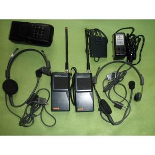 アマチュア無線144㎒ FMトランシーバー ケンウッドTH-21 2台セット(その他)