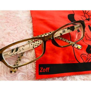 ゾフ(Zoff)のZoff×ディズニーコラボ眼鏡/ミニーマウスJr.メガネ(サングラス/メガネ)