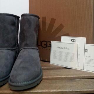 アグ(UGG)のUGG クラシックショート US8 灰(ブーツ)
