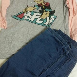 ジーユー(GU)のセット(*⌒▽⌒*)(Tシャツ(長袖/七分))