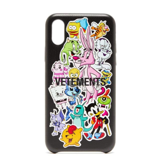 iphone8 カメラ ケース - VETEMENTS モンスターズ iPhone XS レザーケースの通販