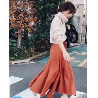 アメリヴィンテージ(Ameri VINTAGE)のAMERI vintage  アシメフレアロングスカート(ロングスカート)