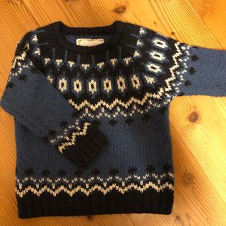 ザラ(ZARA)のZARA ザラ デザインセーター size 3-4 years(ニット)