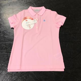 マンシングウェア(Munsingwear)の期間限定お値下げ中マンシングウェア  ポロシャツ ピンク 日本製 M(ポロシャツ)