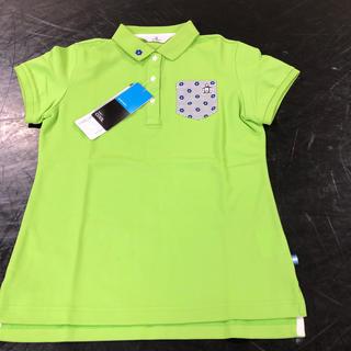 マンシングウェア(Munsingwear)の期間限定お値下げ中マンシングウェア 花デザイン ポロシャツ M クール(ポロシャツ)