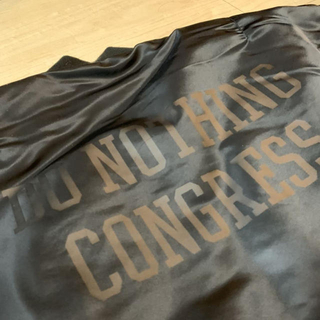 フラグメント(FRAGMENT)のDo Nothing Congress MA-1 黒 XL 藤原ヒロシ soph(フライトジャケット)